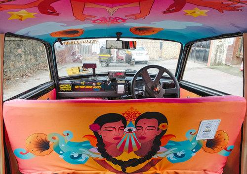 インドのタクシー07
