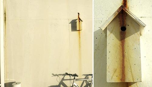 カモフラージュ鳥の巣箱07
