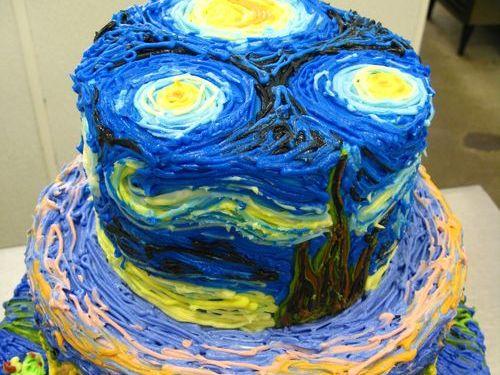 00おもしろいキャラクターケーキ