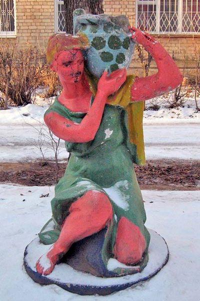 ロシアの公園の遊具14