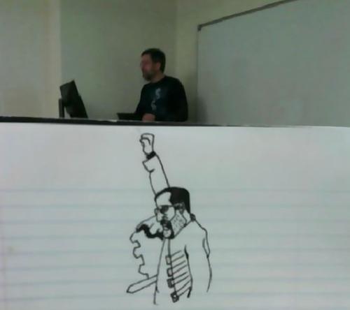 授業中に先生の似顔絵を描き続けた結果03