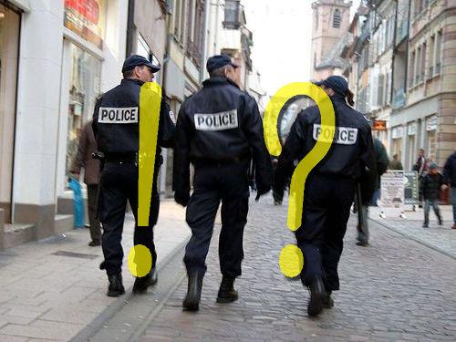 フランス警察の追跡00