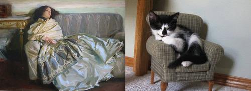 猫で再現するあの名画06