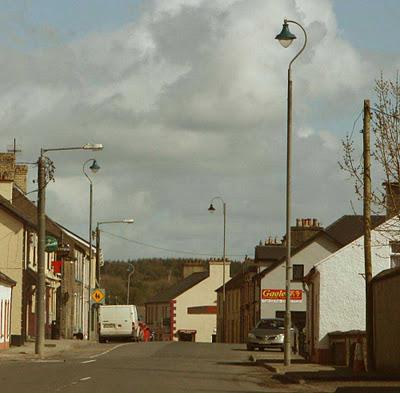 アイルランドの街灯が盗まれる01