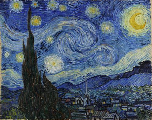 木星がゴッホの絵画のように02