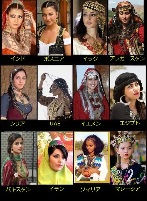 もしもイスラム女性が代わりに伝統服を着ていたら02