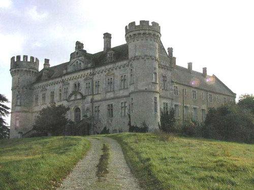 ヨーロッパのお城のような家 A01