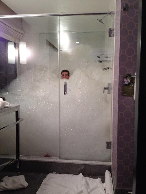 お風呂にバブルバス01