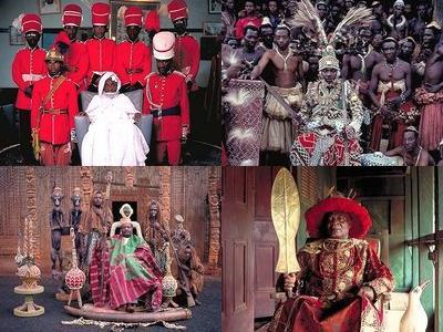 アフリカの部族の王や族長たちTOP