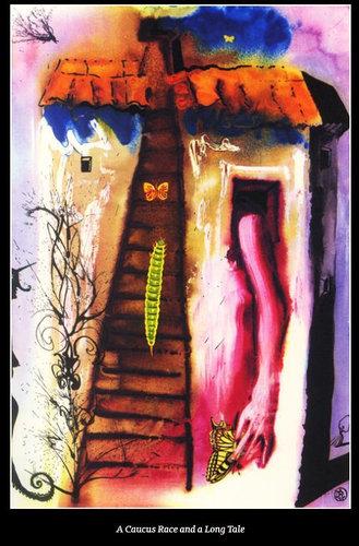 ダリが描いた不思議の国のアリス04