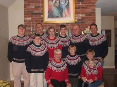 クリスマスの変な写真12