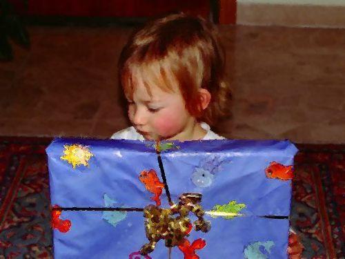 子供のプレゼント