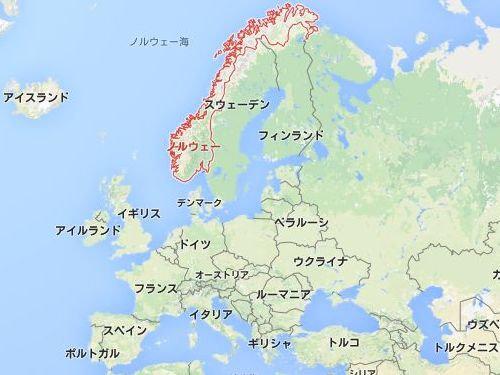 ノルウェーの雪だるま00