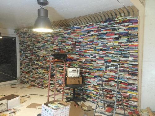 4000冊の古本でリビングをデザイン06