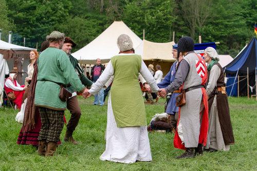 中世風の結婚式04