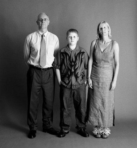 21年間の父、母、息子の写真12