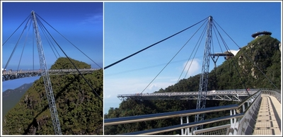ランカウイ山頂のつり橋04