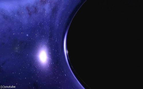 ブラックホールに吸い込まれたら03