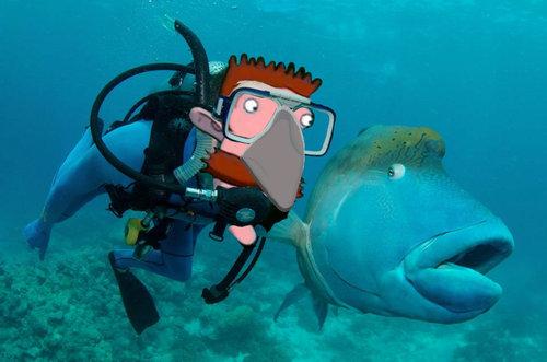 魚とプライスレスな写真09