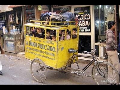 インドのスクールバス00
