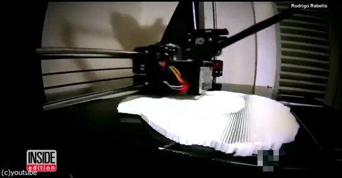 3Dプリンターで亀の甲羅を修復02