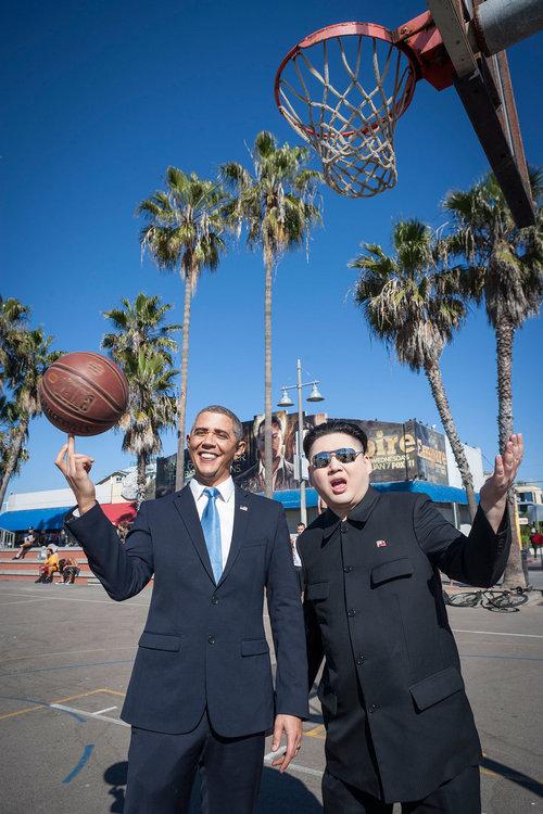 オバマと金正恩のそっくりさん03