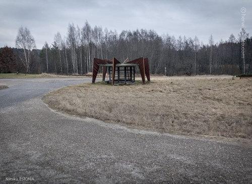 ソ連のバス停03