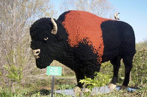 サンアントニオ動物園がレゴの動物を展示14