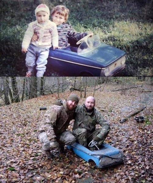 30年経って兄弟でチェルノブイリを訪ねた01