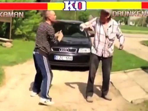 泥酔したロシア人のストII01