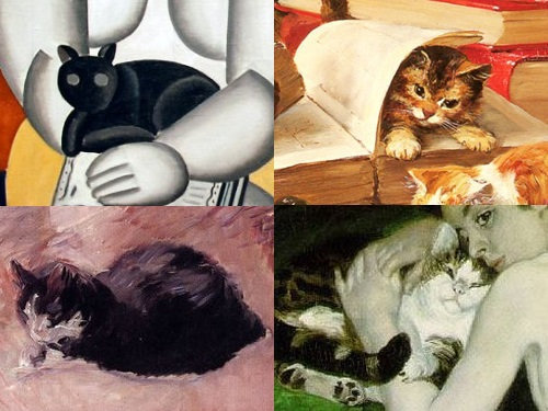 有名画家の描いた猫00