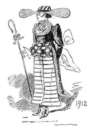 19世紀に想像した20世紀のファッション05