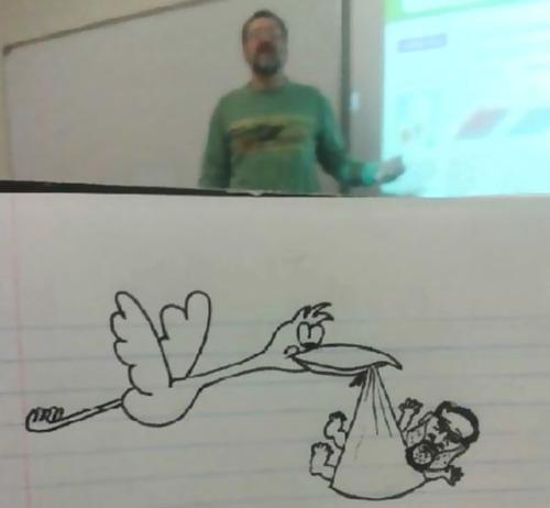 授業中に先生の似顔絵を描き続けた結果04