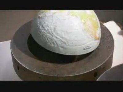 地球儀の作られ方