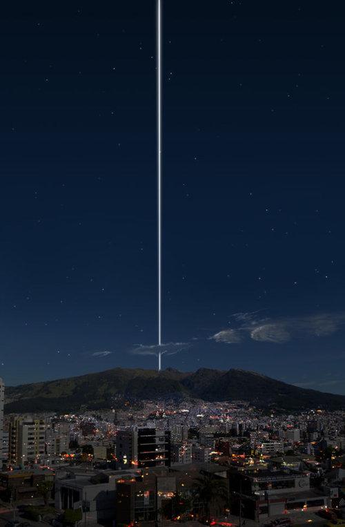 もし地球に土星の輪があったら…地上からはこう見える03
