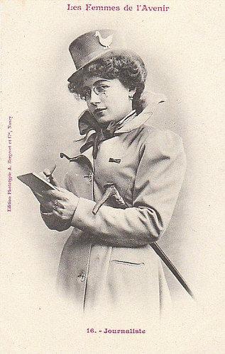 100年前に想像した未来の女性像16