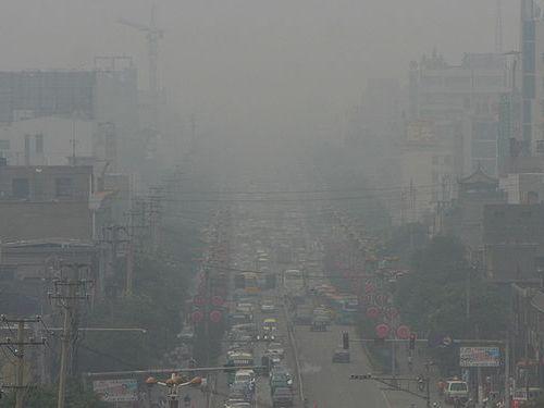 中国の環境汚染