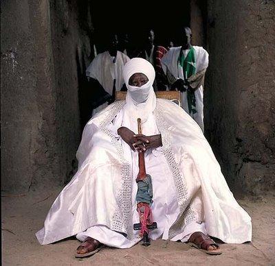 アフリカの部族の王や族長たち15