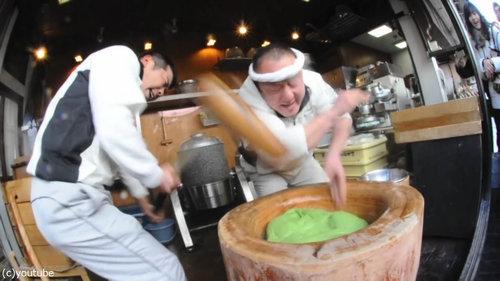 日本の餅つき02