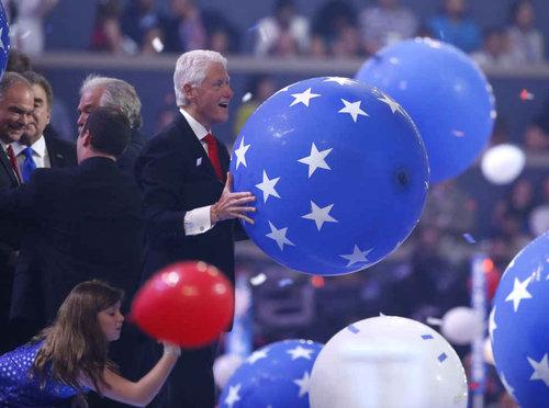 ビル・クリントンはバルーンが大好き07