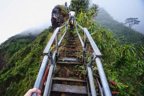 ハワイの天国への階段02