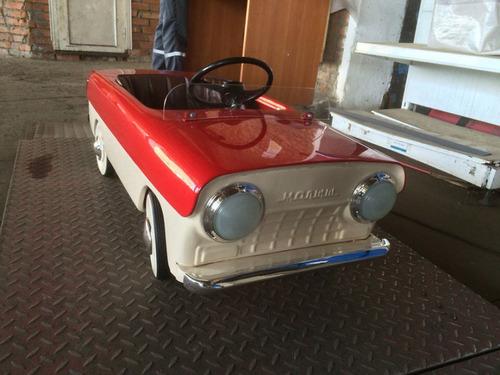 ソ連時代の子ども用のペダル車をレストア07