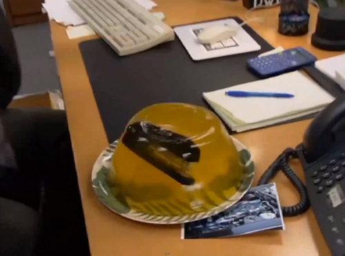 オフィスのイタズラ10