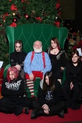クリスマスの変な写真17
