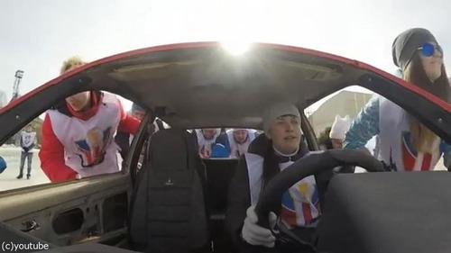 車でカーリング01