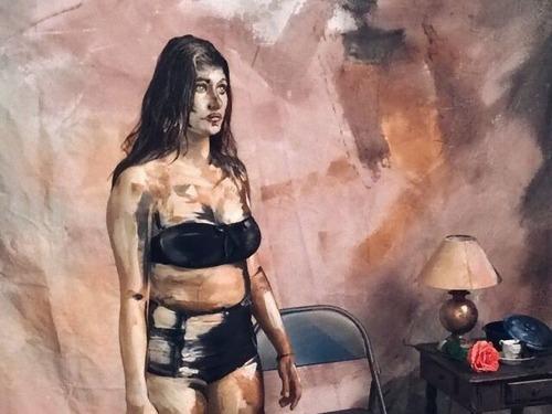 フランス女性のアート00