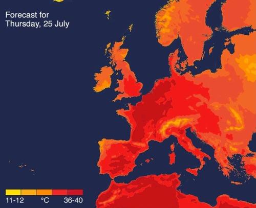 ヨーロッパ全土が猛暑02