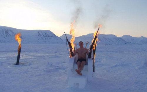 寒さと戦う人々05