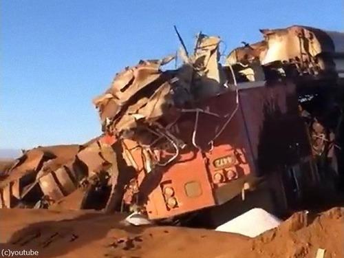 オーストラリアで268両の貨物列車が暴走01