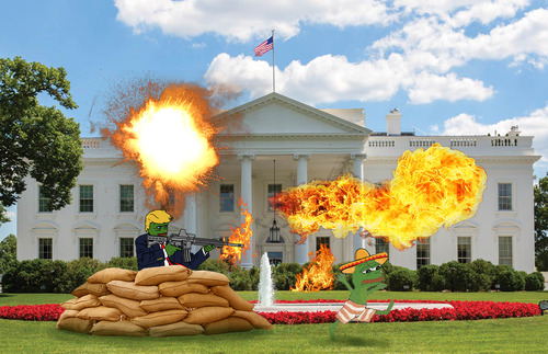 「もうホワイトハウスを変えちまえ!」13